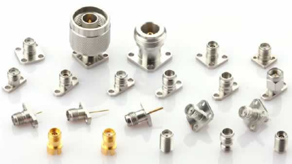 RF coaxial connectors up to 65 Ghz SMA, 2.92mm, 2.4mm, 1.85mm, N, TNC