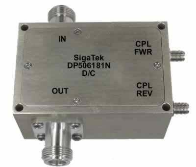 DP506181N Dual Coupler 50 db Power 2000 Watt 0.5-50 Mhz