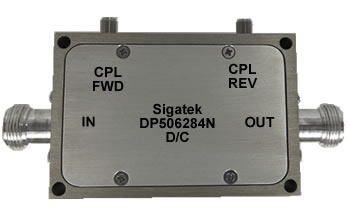DP506284N Dual Coupler 50 db Power 500 Watt 80-1000 Mhz