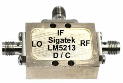 LM5213 Microwave Mixer LO=+13 dBm 2-8 Ghz
