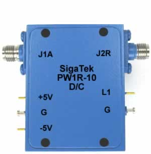 PW1R-10 Pin Diode Switch Reflective 0.5-2.0 Ghz