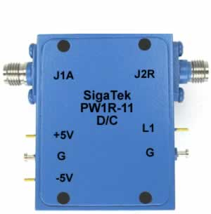 PW1R-11 Pin Diode Switch Reflective 0.5-4.0 Ghz