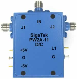 PW2A-11 Pin Diode Switch SPDT Absorptive 0.5-4.0 Ghz