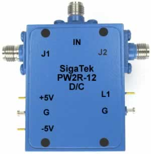 PW2R-12 Pin Diode Switch SPDT Reflective 0.5-8.0 Ghz