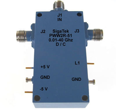 PWW2R-51 Pin Diode Switch SPDT Reflective 0.01-40.0 Ghz