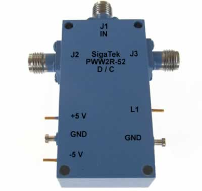 PWW2R-52 Pin Diode Switch SPDT Reflective 10 Khz-50.0 Ghz