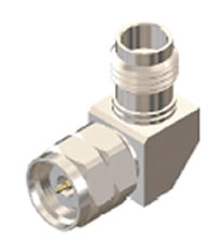 SAR72 Adapter Right Angle 2.4mm Male-2.4mm Female