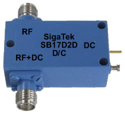 SB17D2D Bias Tee High Current 5 Mhz-12.4 Ghz