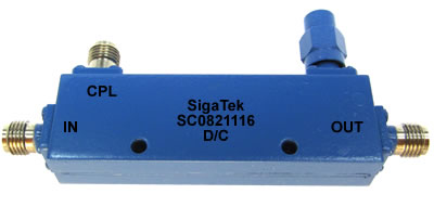 SC0821116 Directional Coupler 8 dB 1.0-40.0 Ghz