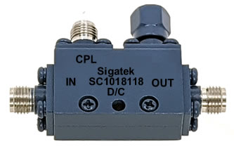 SC1018118 Directional Coupler 10 dB 6.0-26.5 Ghz