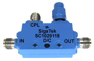 SC1029118 Directional Coupler 10 dB 6.0-50.0 Ghz