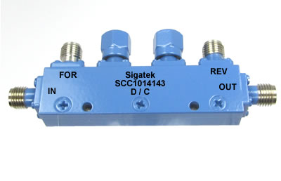 SCC1014143 Dual Directional Coupler 10 dB 4.0-8.0 Ghz
