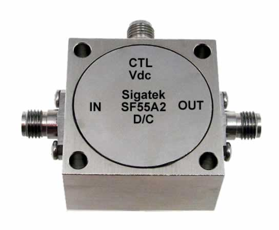 SF55A2 Analog Phase Shifter 180 degree 100-200 Mhz
