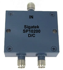 SP10200 Power Divider 2 way 0.5-1.0 Ghz