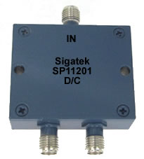 SP11201 Power Divider 2 way 1.0-2.0 Ghz