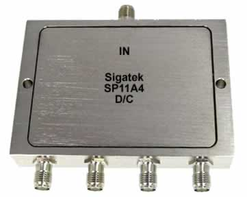 SP11A4 Power Divider 4 way 5-1000 Mhz