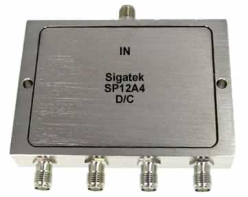 SP12A4 Power Divider 4 way 5-1500 Mhz