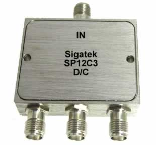 SP12C3 Power Divider 3 way 5-1500 Mhz
