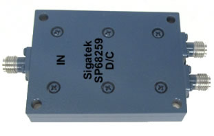 SP68259 Power Divider 2 way 2.0-18.0 Ghz