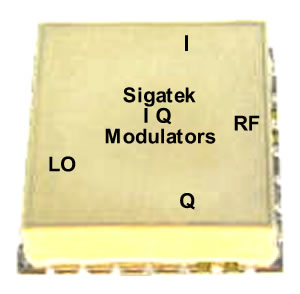Surface Mount I, Q Modulators Outline-F2